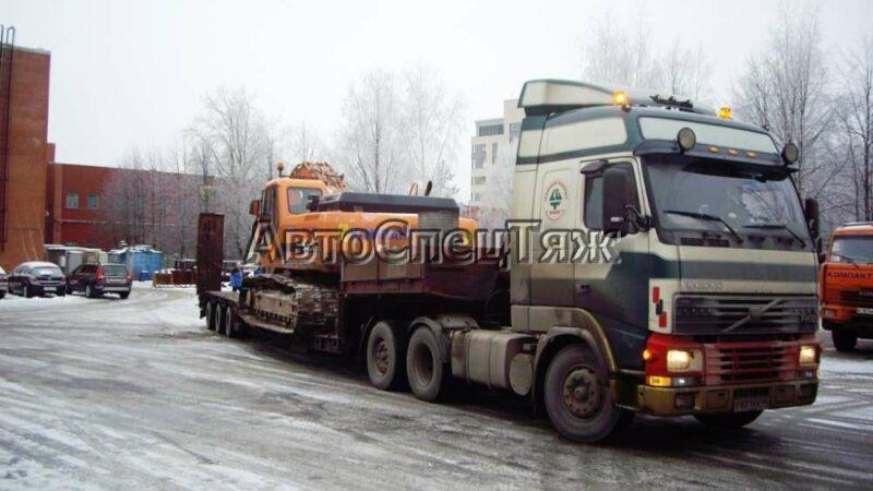 перевозка экскаватора Daewoo 340 фото 3