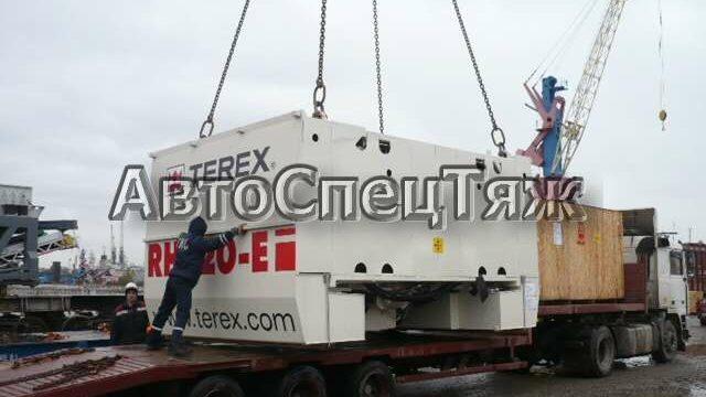 перевозка экскаватора Terex RH120 5