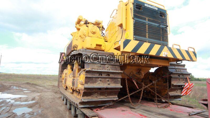 перевозка бульдозера Komatsu D355C