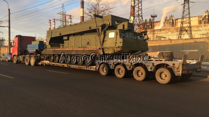 перевозка боевого комплекса С300 фото 2