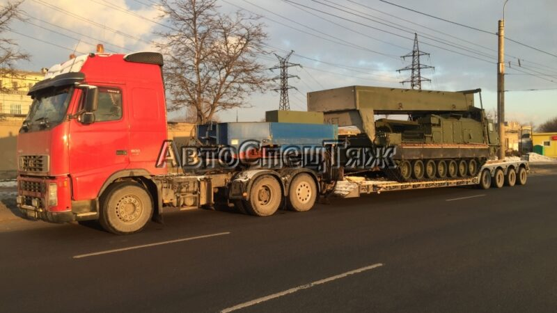 перевозка боевого комплекса С300 фото 1
