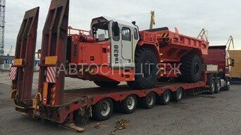 перевозка шахтного самосвала Sandvik TH430 - 2
