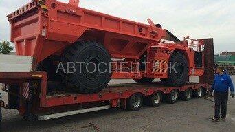 перевозка шахтного самосвала Sandvik TH430 - 1