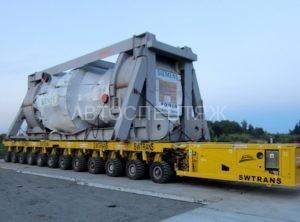 Перефозка турбин сименс автотранспортом фото